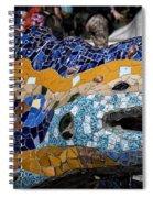 Gaudi Dragon Spiral Notebook