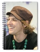Gavin Degraw Spiral Notebook