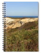 Gay Head Lighthouse With Aquinnah Beach Cliffs Spiral Notebook