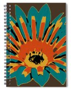 Gazania Spiral Notebook