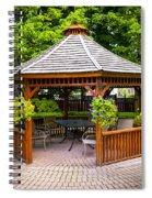 Gazebo  Spiral Notebook