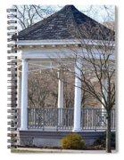 Gazebo In Buccleuch  Park Spiral Notebook