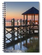 Gently - Gazebo On The Sound Outer Banks North Carolina Spiral Notebook