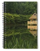 Gazebo Reflections Spiral Notebook
