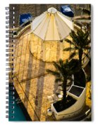 Gazebo Shadow Lines Spiral Notebook