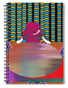 Gazing Into The Crystal Ball Spiral Notebook