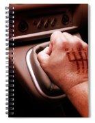 Gear Burn Spiral Notebook