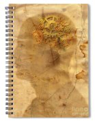 Gears In The Head Spiral Notebook
