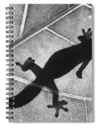 Gecko Shadow Spiral Notebook
