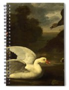 Geese And Ducks Spiral Notebook