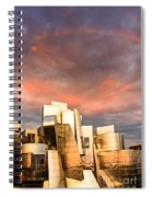 Gehry Rainbow Spiral Notebook