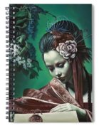 Geisha Has No Right To Love Spiral Notebook