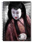 Geisha Kunoichi Spiral Notebook