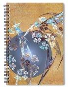 Geisha Moon Spiral Notebook