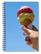 Gelati Ice Cream Cone Spiral Notebook