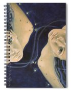 Gemini From Zodiac Series Spiral Notebook