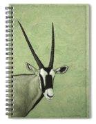 Gemsbok Spiral Notebook