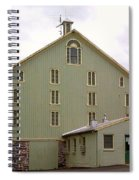 General And President Dwight D. Eisenhower Old Barn Spiral Notebook