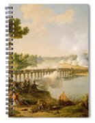 General Bonaparte Giving Orders At The Battle Of Lodi Spiral Notebook
