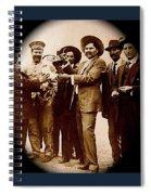 General Fierro With Chicken And Villa Unknown Location Or Date-2013 Spiral Notebook
