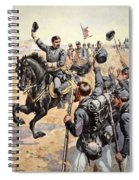 General Mcclellan At The Battle Spiral Notebook