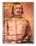 General Pickett Confederate  Spiral Notebook