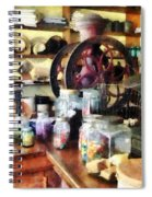 General Store With Candy Jars Spiral Notebook