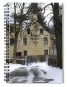General Wayne Inn In Winter Spiral Notebook