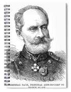 General Zach, 1876 Spiral Notebook