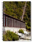 Generator House Of Hydro-electric Power Plant Spiral Notebook