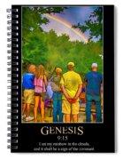 Genesis 9 Spiral Notebook