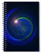 Genesis Digital Art Spiral Notebook
