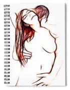 Gentle Lover Spiral Notebook