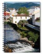 Gentle Stream Of Water Spiral Notebook