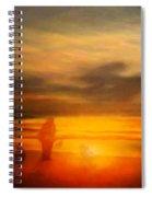 Gentle Sunset Vision Spiral Notebook