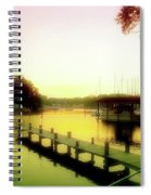 Gentle Whispers Spiral Notebook