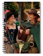 Gentleman And His Lady Spiral Notebook