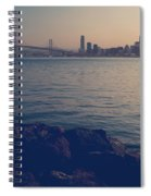 Gently The Evening Comes Spiral Notebook