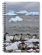 Gentoo Parade Spiral Notebook