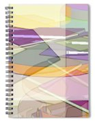 Geo-art Spiral Notebook