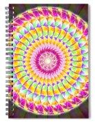 Geo Master Eleven Kaleidoscope Spiral Notebook