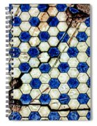 Geographic Tile Spiral Notebook