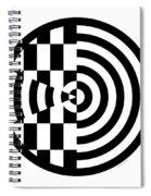 Geomentric Circle 3 Spiral Notebook