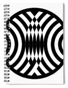 Geomentric Circle 4 Spiral Notebook