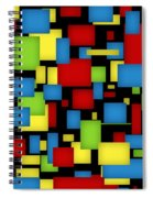 Geometric Art Spiral Notebook