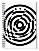Geometric Circle 6 Spiral Notebook