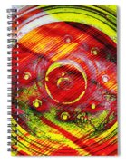 Geometric Colors  Spiral Notebook