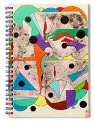 Geometric Conundrum Spiral Notebook