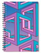 Geometric  Spiral Notebook