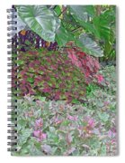 Geometric Shapes Of Nature Spiral Notebook